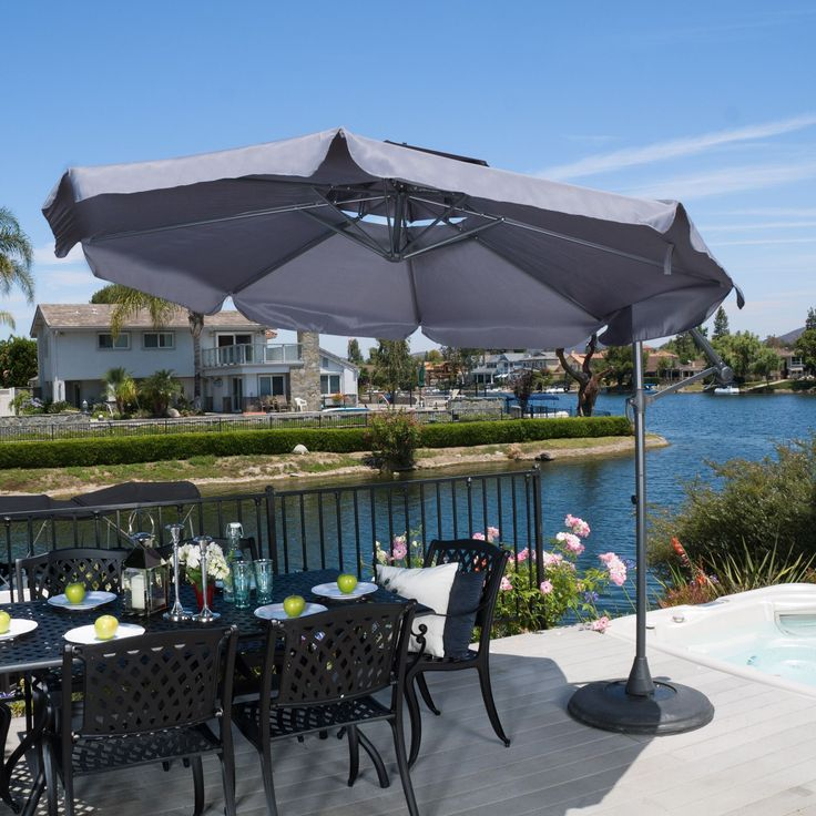 The Baja Banana sun canopy makes a perfect shade solution for you and your guests. Add this canopy to any outdoor patio area to immediately give you and your guests the right protection you need from the elements.