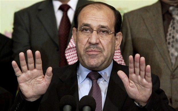 Nouri al-Maliki resists pressure to step down