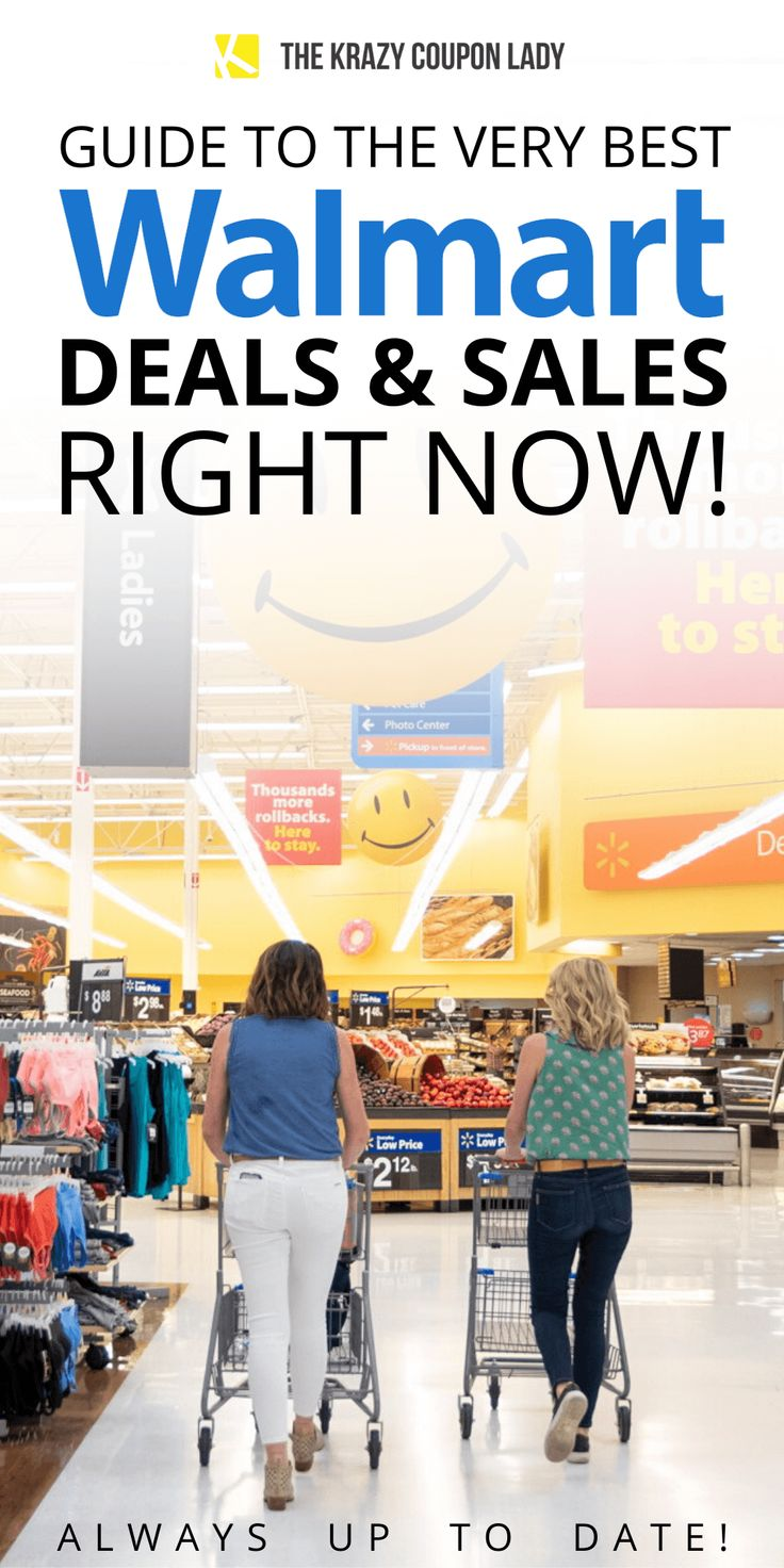 Are you a Walmart shopper looking for the best sales? Get