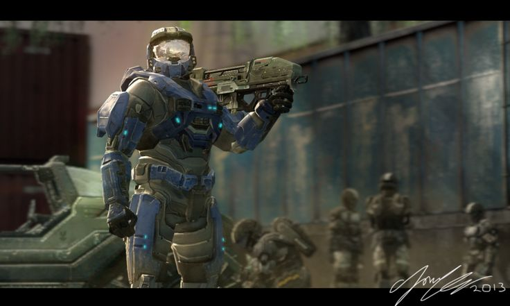 1185 best images about halo and master chief on pinterest - Master chief in halo reach ...