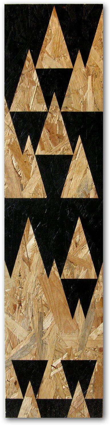 Forêt OSB peinture bois sticker décoration murale par osblove