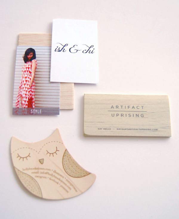 Alt Business Cards - Best Letterpress, Black & White, and Color & Shape