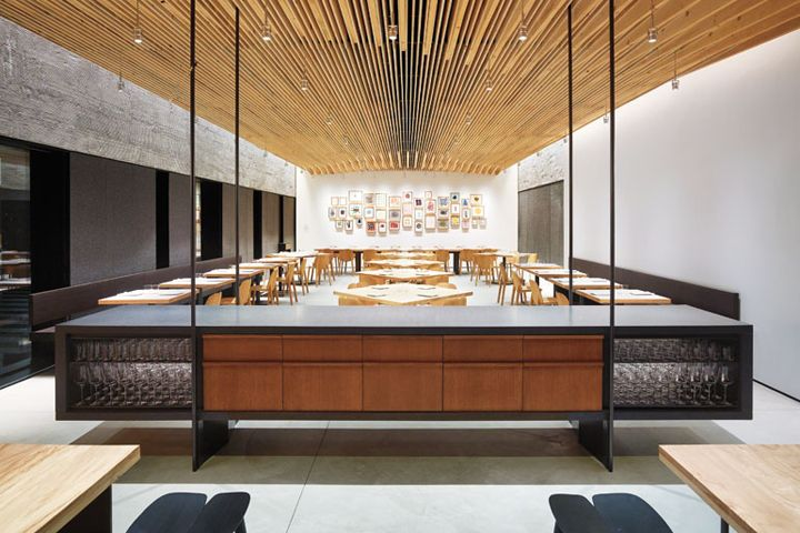 In Situ restaurant by Aidlin Darling Design San Francisco  California