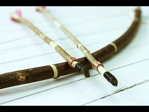 Comment fabriquer un arc et des flèches.
