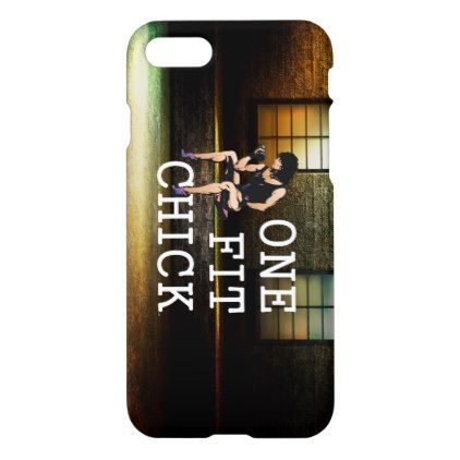 TOP One Fit Chick iPhone 8/7 Case - girl gifts special unique diy gift idea