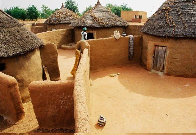 village africain traditionnel - Recherche Google