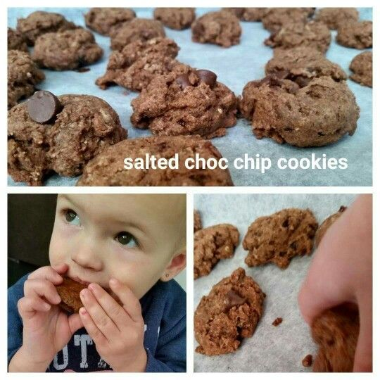 So delicious! Healthy choc chip cookies for kids