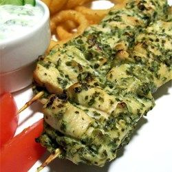 Chicken Hariyali Tikka - Allrecipes.com