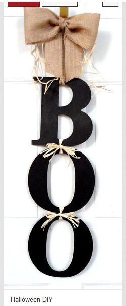 Use polka dot ribbon instead of twine OR dress up the letters with paint and glitter or little googly eyes