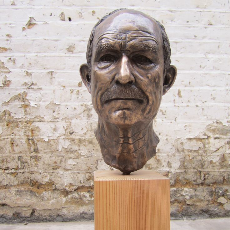 'My Dad'  Bronze Portrait   Modelled and cast by Zoe Wilson