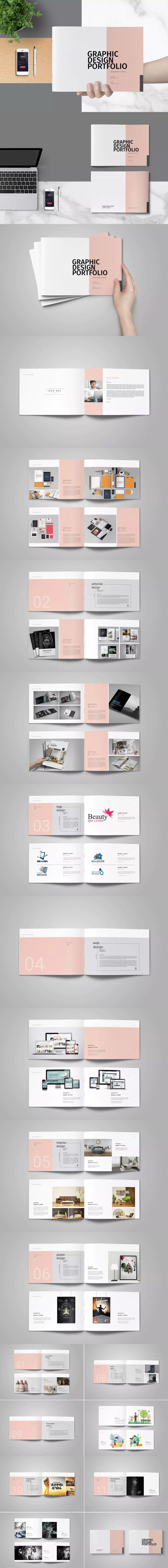 Mejores 45 imágenes de Portfolio Brochure / Book Templates en ...