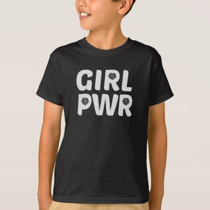 #feminist #tshirts - #Girl Power Rose Logo T-Shirt
