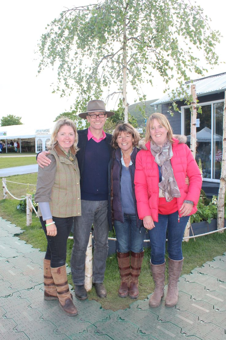 Meeting the inimitable James Alexander Sinclair (one of the judges) at RHS Malvern 2014