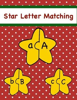 Use this cute upper and lower case letter matching game for fun or as part of your literacy center.
