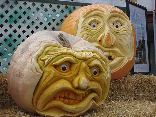 Best ideas about scary pumpkin faces on pinterest