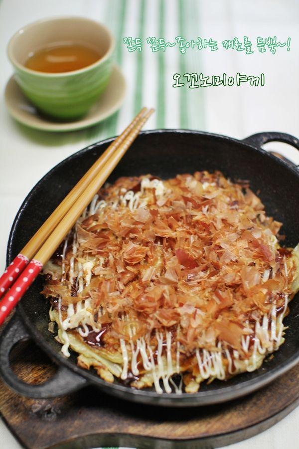 [일본식 오꼬노미야끼 만들기]오코노미야끼 만드는법::소스 : 네이버 블로그