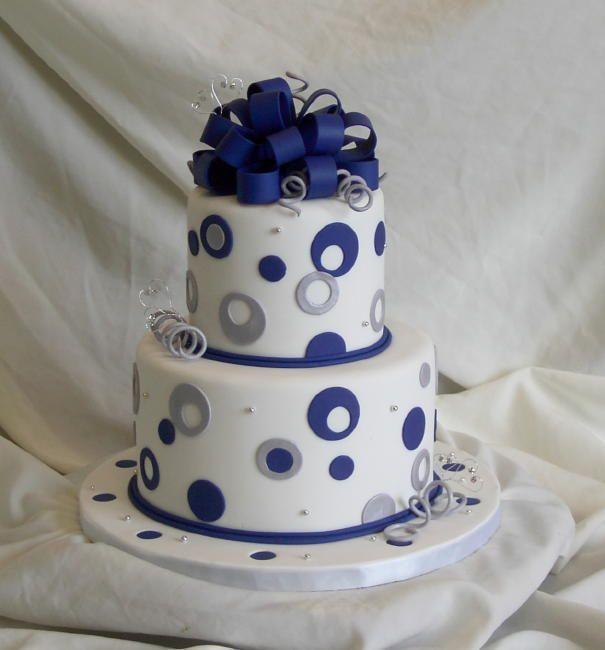 Blue Fondant Cake Design : 17 mejores imagenes sobre Tortas de quince en Pinterest ...