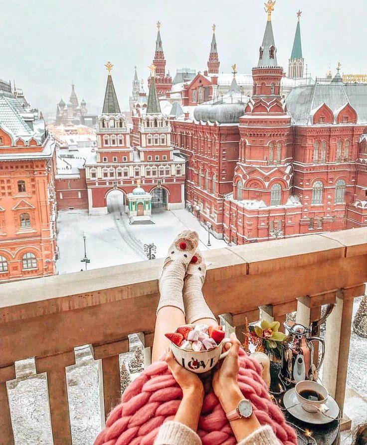 Прикольные картинки москвы