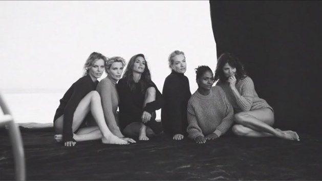 Iconische supermodellen uit de jaren 90 weer verenigd
