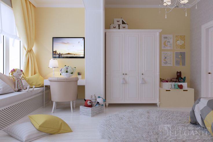 Детская для девочки в загородном доме - Галерея 3ddd.ru
