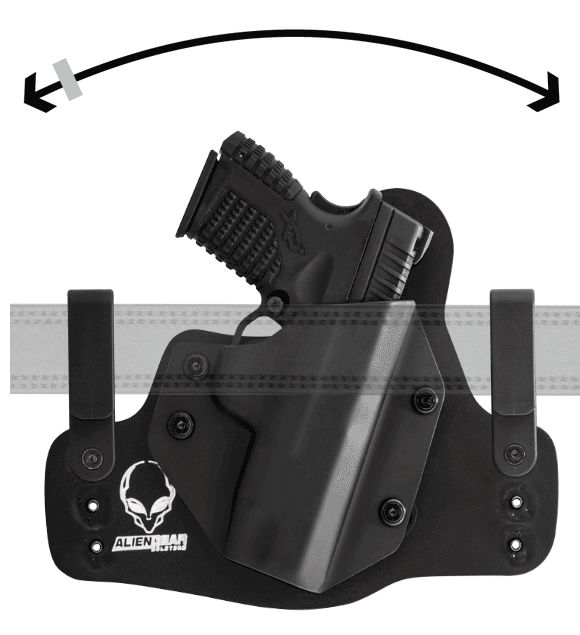 Conceal in comfort with the Alien Gear Cloak Tuck 3.0 IWB Holster (Inside the Waistband) $44 Its the best holster I own. If you wear it all day, your skin may take some time to get uses to it. 5/5