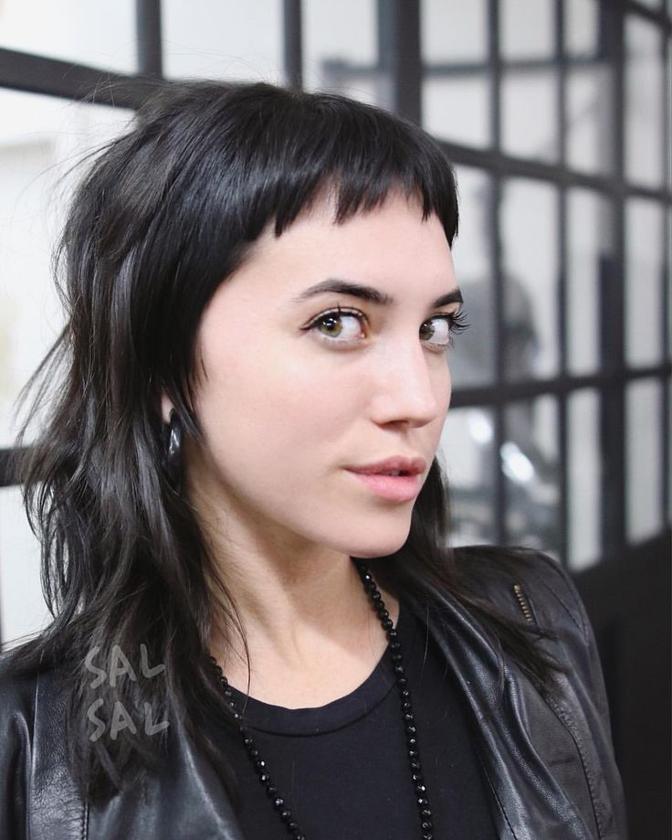 how to cut textures bangs