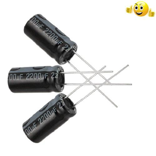 #sale Standard general purpose.  Radial lead, #aluminum Electrolytic capacitor.  The longer lead is positive electrode and the #shorter one is negative electrode....
