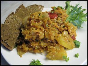 Nopea Quinoa- porkkanapata (Vegaani) Kotikokki.netin nimimerkki Insanityn keitoksista