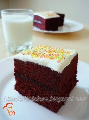 Red Velvet Brownie Sandwich with Cream cheese frosting (Steamed) | My ...