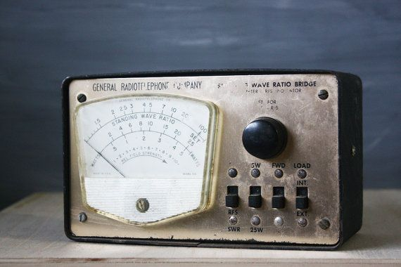 General Radiotelephone Standing Wave Ratio Bridge CB - $25