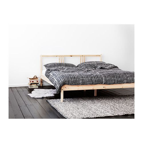 BJÖRNLOKA RUTA Dekbedovertrek met 2 slopen - 240x220/50x60 cm - IKEA