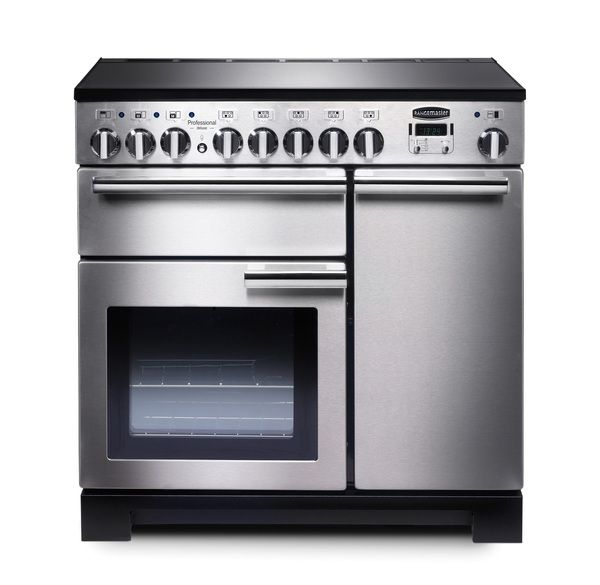 Rangemaster Professional Deluxe 90cm Induction Range Cooker SS