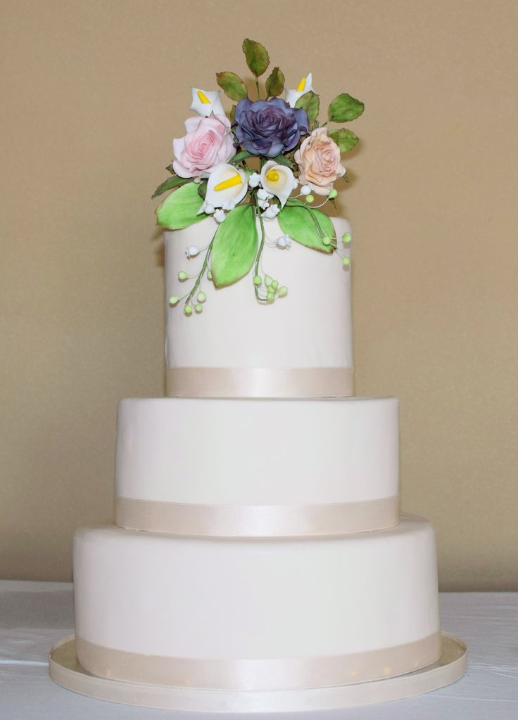 Bouquet Wedding cake