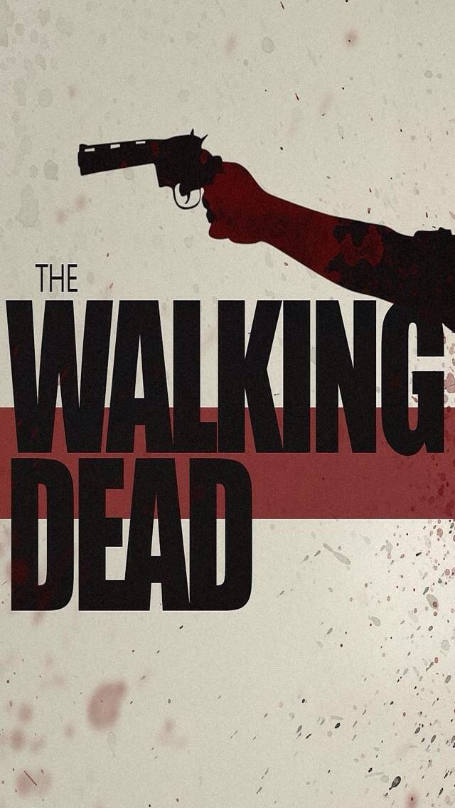 Cool walking dead iphone wallpaper