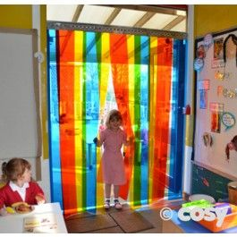 COLOURFUL DOOR STRIP - DOUBLE