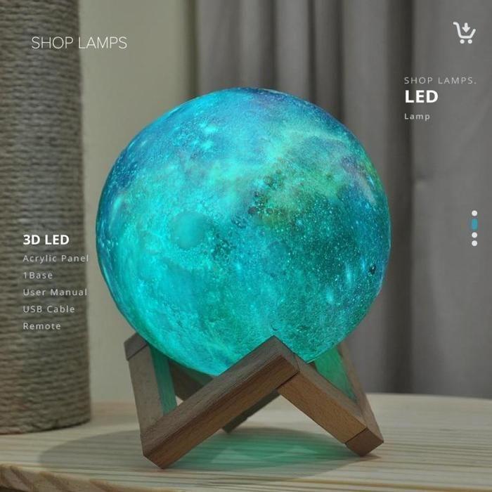 Galaxy Moon Lamp Star Lamp Galaxy Galaxy Print