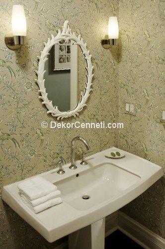 Yeni su geçirmez banyo duvar kağıtları Modelleri