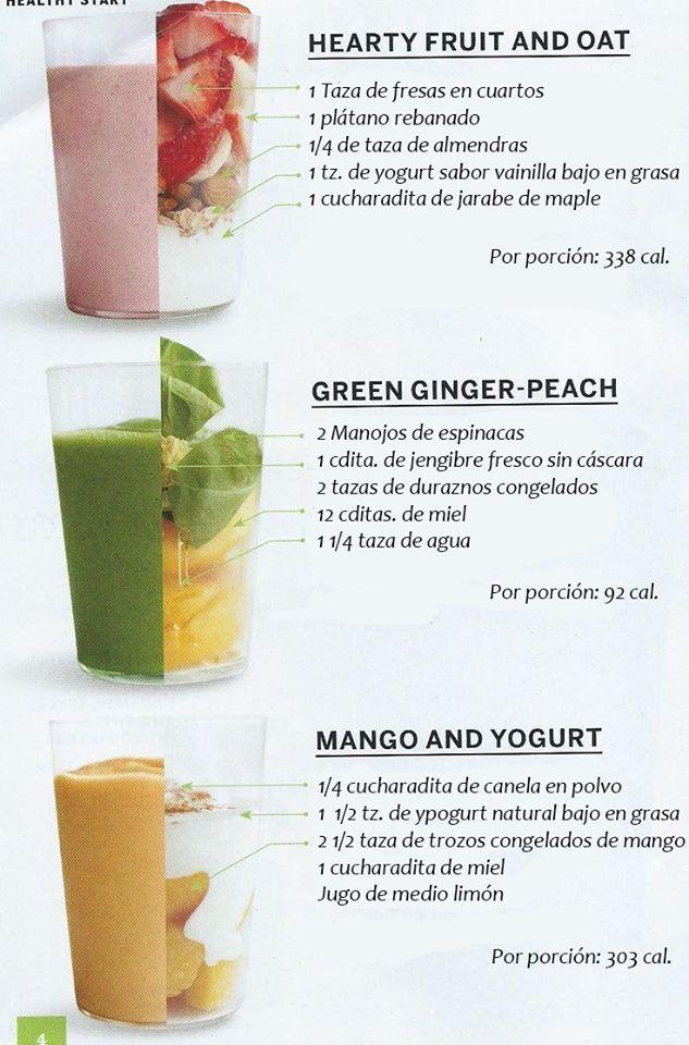 Cómo preparar estos 3 smoothies!!! Y estar listo para una jornada larga de clases ;) #saludable #estudiantes #healthy #umayor
