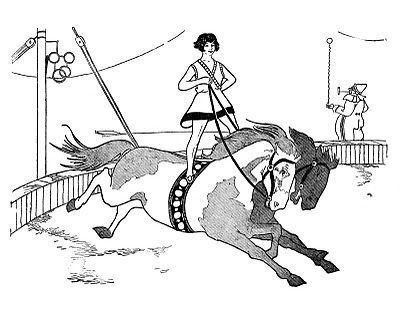 circus horses coloring pages - 1000 images about circus riders on pinterest pablo