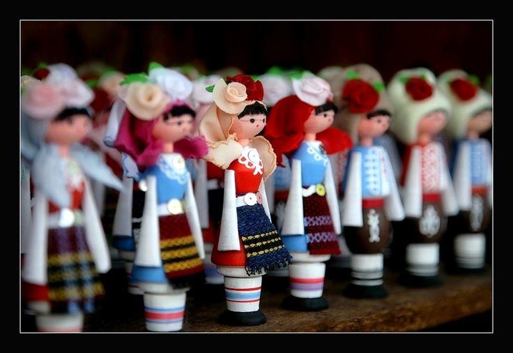 Traditional Bulgarian Souvenir Dolls