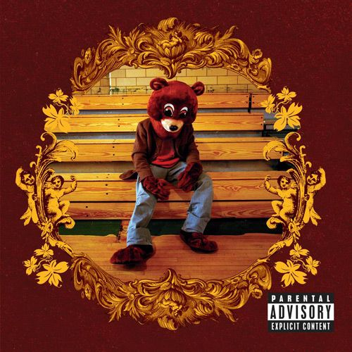This is the album that made me fall in love with Kanye West. It's actually his first album - The College Dropout