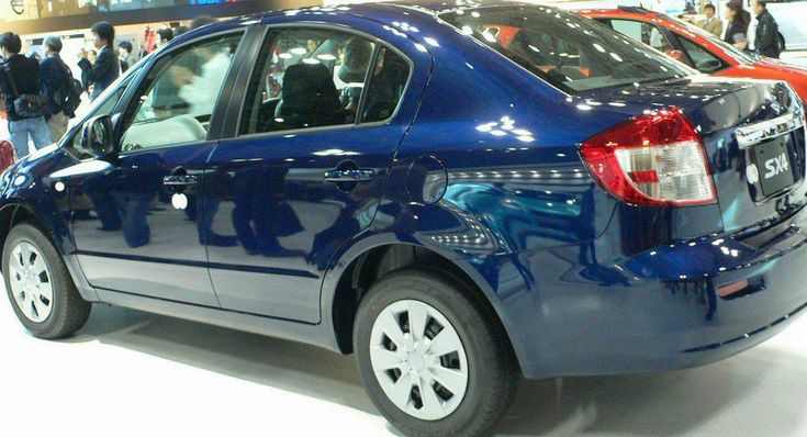 Suzuki SX4 Sedan configuration - http://autotras.com