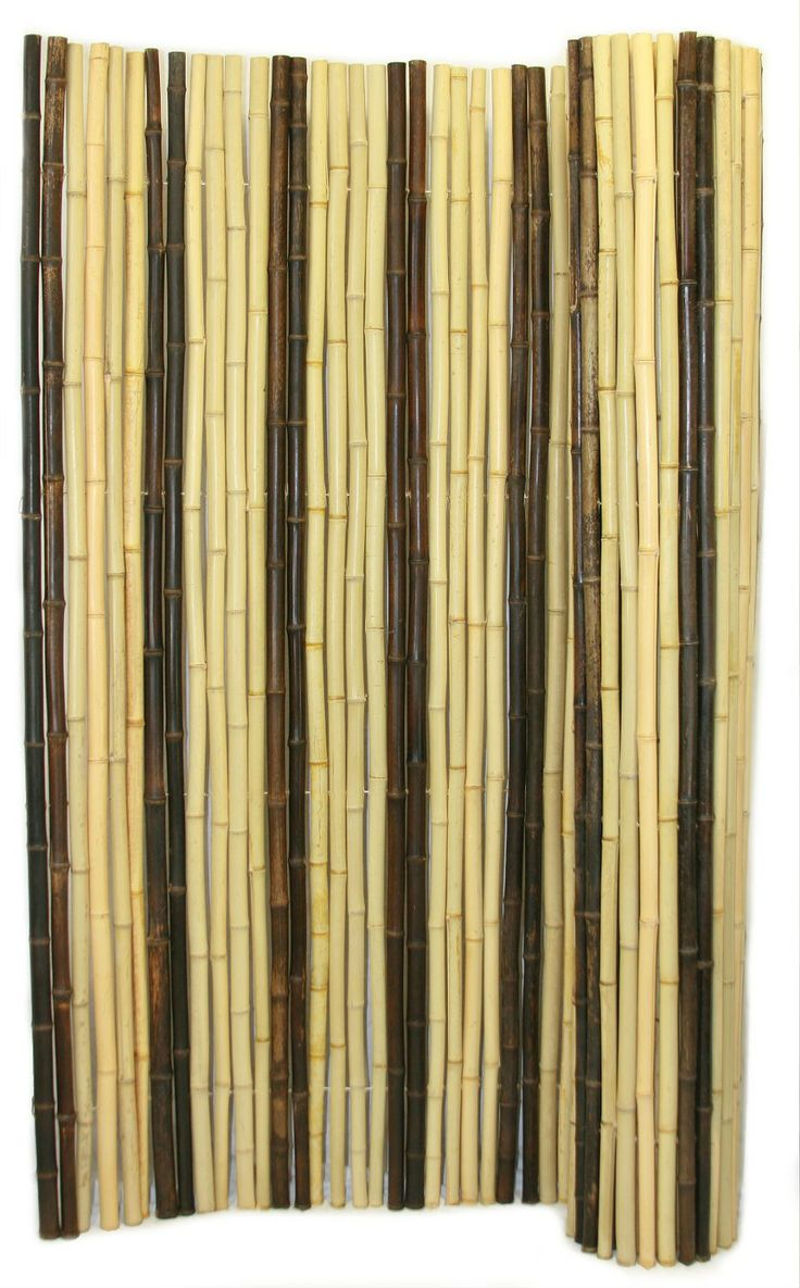 Retro blend bamboo fencing is made from a unique blend of for Natural privacy fence