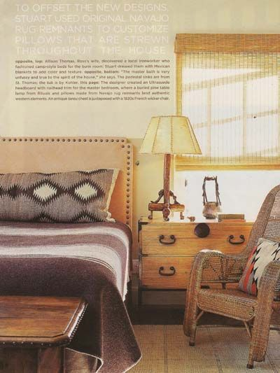 I like this southwestern style rather than cutesy overdone log style fabric  and furniture. 25 best Southwestern bedroom images on Pinterest