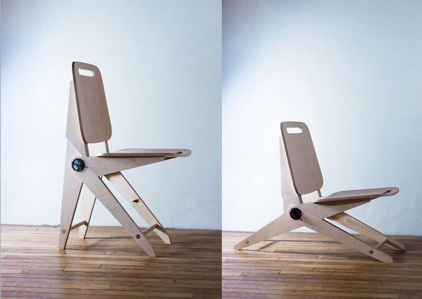 A l'Atelier Osmose le bois, réalisation sur mesure en petite série de la chaise CHM01 by  # Le Bois De La Chaise