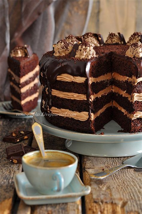 Шоколадный торт с Нутеллой и про магазин приятных вещей. - Вкусная пауза