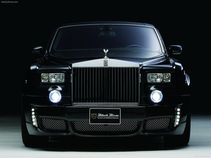 Rolls Royce Black Color Images For Desktop HD Wallpaper