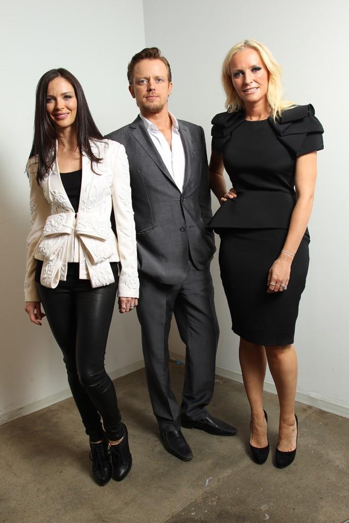Georgina Chapman, Edward Chapman and Keren Craig.