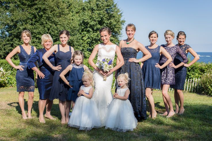 best 25 mismatched navy bridesmaids ideas on