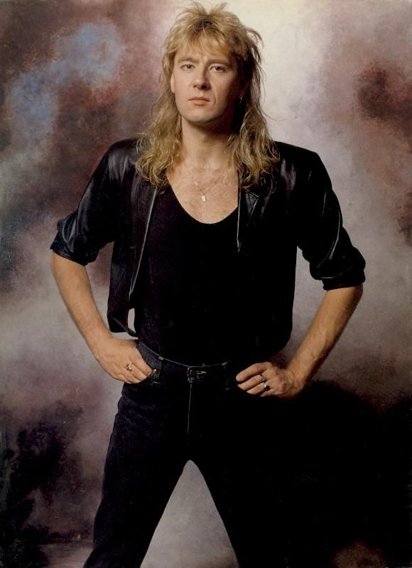 Joe Elliott, circa 1987; provenance unknown